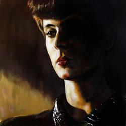 Rachel - Blade Runner (1982) by kevinsbrush