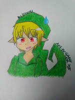 Ben Drowned! (but not the scary version. xD) by Gengargamer64