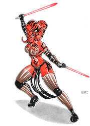 Darth Talon by DemetrioBraga