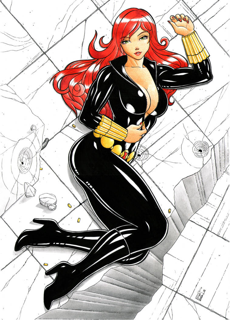 Black Widow by DemetrioBraga