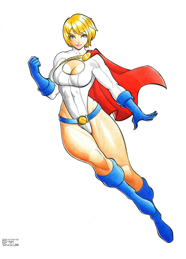 Power Girl by DemetrioBraga