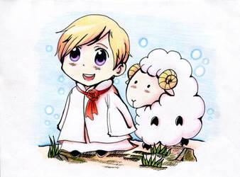 Little sheep by Sadolen