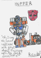 Huffer by RedFire11