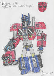 Optimus Prime by RedFire11