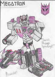 Megatron by RedFire11