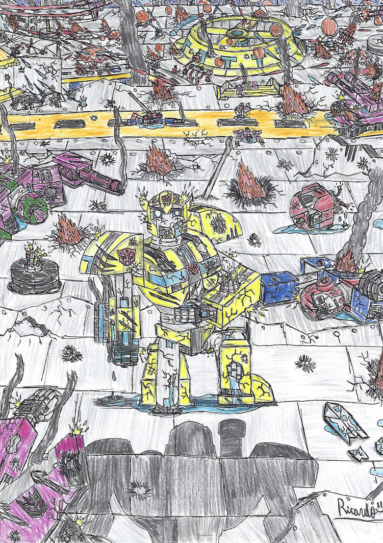 Transformers: Tyger Pax (Color) by RedFire11