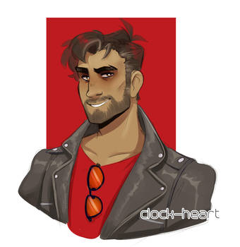 knife dad by Clock--Heart