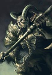 Ancient Warrior by camilkuo