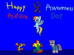 Happy Autism Awareness Day by chanyhuman