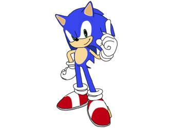 Sonic the Hedgehog  by chanyhuman