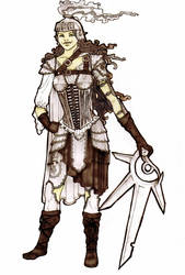 Warrior for FEZ Contest by sandorah