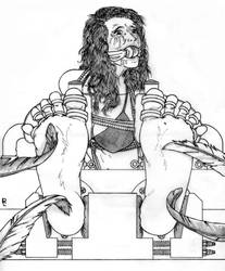 Titillating Tilly by rabastanlestrange