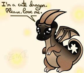 Drako the Little Dragon by Zivichi
