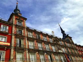 Main Square of Madrid by Zivichi
