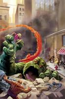 FF Marvel Masterworks SC 1 by DeanWhite