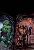 FF Marvel Masterworks SC 2 by DeanWhite