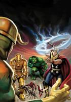 MarvelMasterAvengers1 by DeanWhite