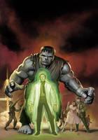 Marvel MasterWorks Hulk by DeanWhite