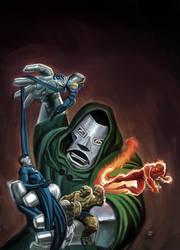 Marvel MasterWorks FF 4 by DeanWhite