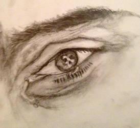 Jensen Ackles' Eye  by burcuzun