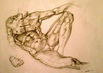 Michelangelo Study by burcuzun