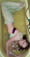 Green Mermaid Girl Stock 3 by Gracies-Stock