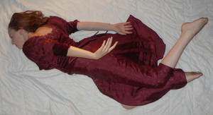 Red Dress Full Body 11 by Gracies-Stock