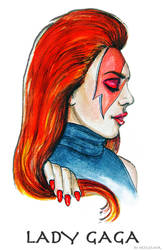Bowie Tribute by ArtEleanor