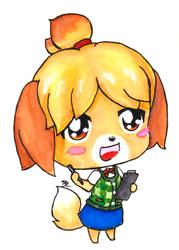 Isabelle Chibi by SeangelSaph