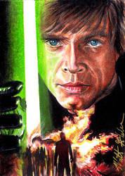 Luke Skywalker Jedi Knight by Twynsunz