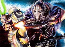 General Grievous Star Wars by Twynsunz