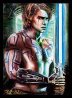 Anakin Skywalker Ghost Hand by Twynsunz