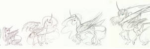 MLP: Alicorns by Earthsong9405