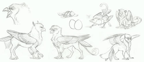 MLP- The Griffons by Earthsong9405