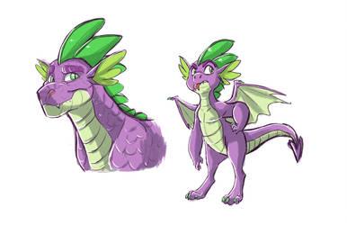 Doodle: Spike by Earthsong9405