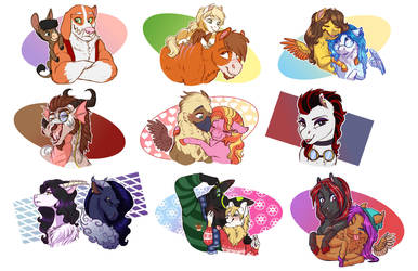 Stream Commission Compilation 1 by Earthsong9405