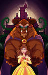 Beauty and the Beast: Thorns and Roses by Earthsong9405