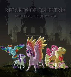 Fanfic Cover Commish: Records of Equestria by Earthsong9405