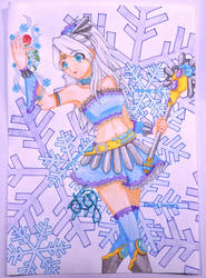 Magical Girl Frozen Crystal by Azian-Princess