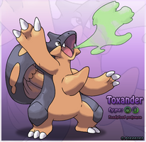 Toxander by Pokekoks
