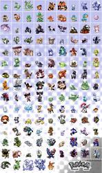 Pokemon nostalgia - full sheet by Pokekoks
