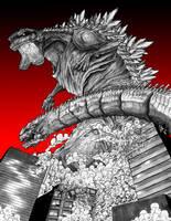 Shin Godzilla by SnailShoes