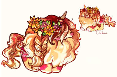 [CLOSED] LIttle Fall mini lion by miloudee
