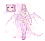 [PROMO]Adoptable - Lilac pink dragon OPEN by Lierxi