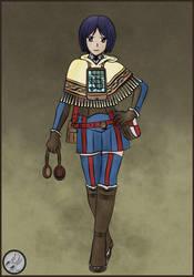 Valkyria Chronicles - Isara by CMZero