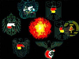 Germany Territorial History by finalverdict