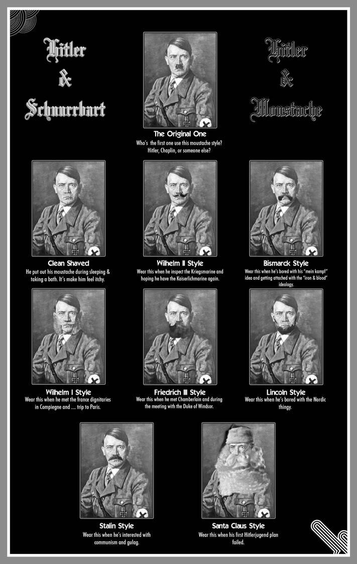 Hitler and Moustache by finalverdict