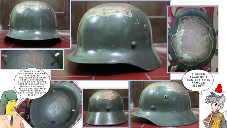 East Indies Stahlhelm by finalverdict