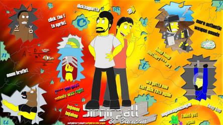 Birgirpall Banzaii Simpsons Style by finalverdict