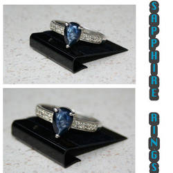 Genuine Sapphire Jewelry 2 by SoRoDesignCompany